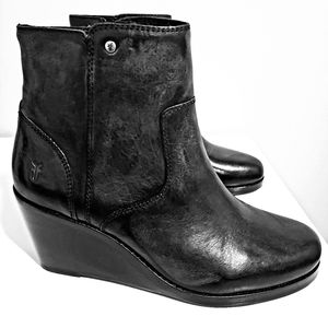 Brand new FRYE wedge/boots